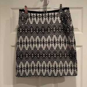 Black and grey H&M Skirt